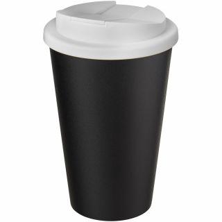 Americano® Eco 350 ml recycelter Becher mit auslaufsicherem Deckel